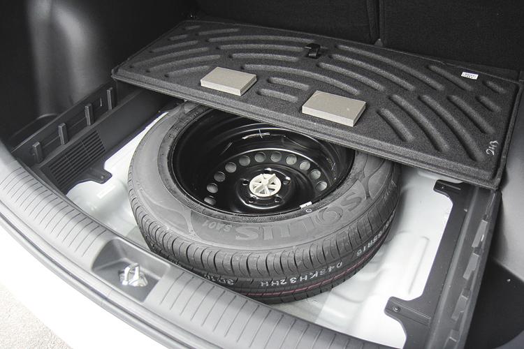 Viene de serie con rueda de auxilio con el mismo tamaño de las otras cuatro.