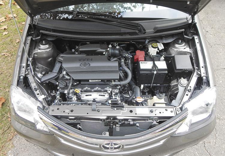 El motor 1.5 16v, cada vez mejor. La gran virtud del Etios.