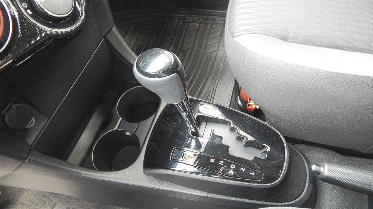 La caja automática es la misma Aisin del Corolla de anterior generación.