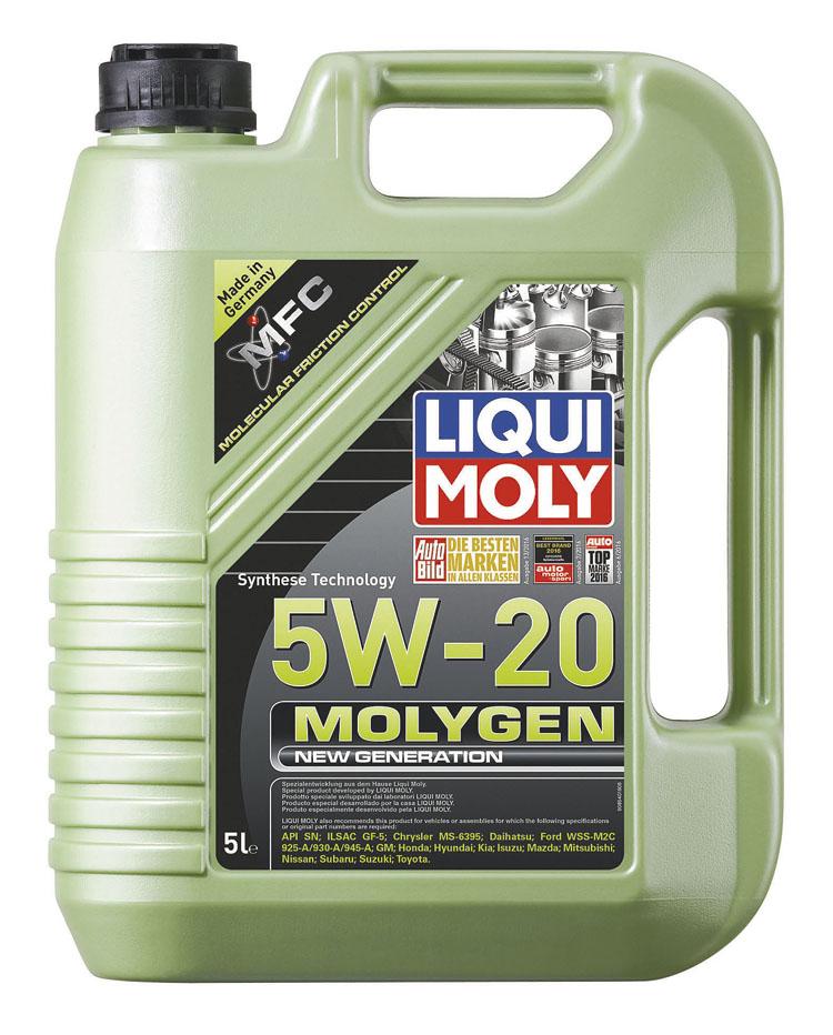 Molygen New Generation reduce la fricción hasta un 15% y el desgaste hasta un 30%.