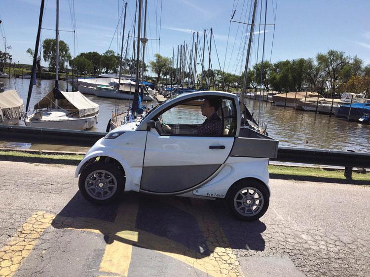 Sero Electric: el simpático autito que quiere quedar en la historia de la industria automotriz argentina.