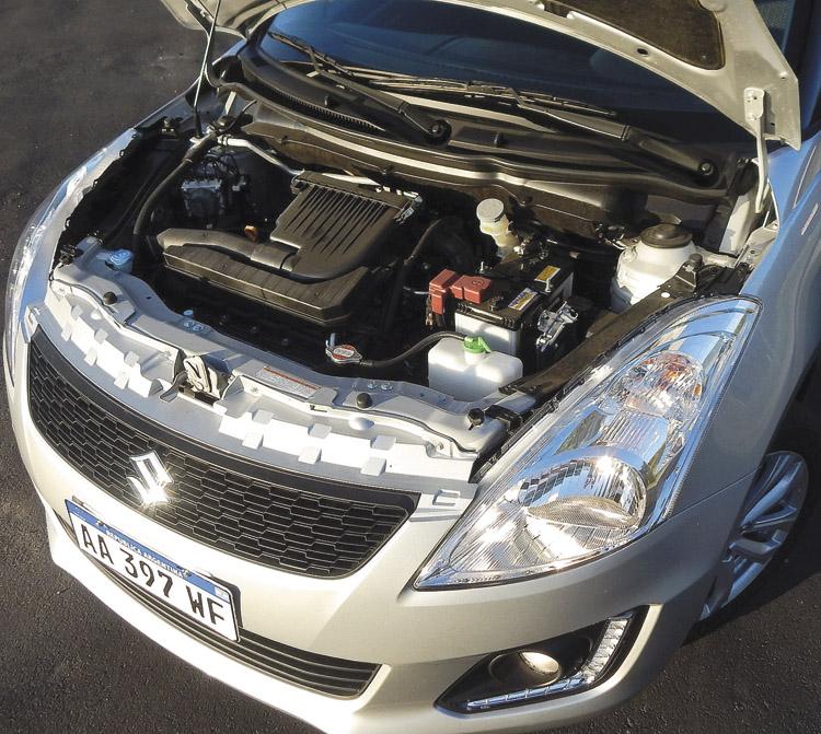Motor 1.4 16v de 95 cv y 130 nm.